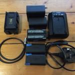 Hawk-woods HB-D1 & Canon DV batteries