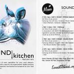 sound kitchen flyer